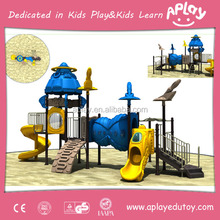 Children outside green forest design climbing nets playground set outdoor kids park equipment