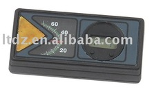 Car indoor thermometer with digital clock