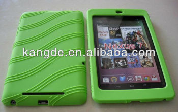 hot sale protective rubber tablet case for Nexus 7