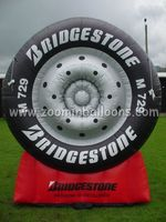 Low price inflatable tire advertising balloon made in China N2091