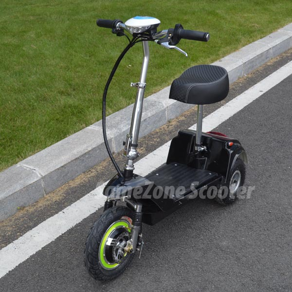 36V mini three wheel mobility scooter with pedals