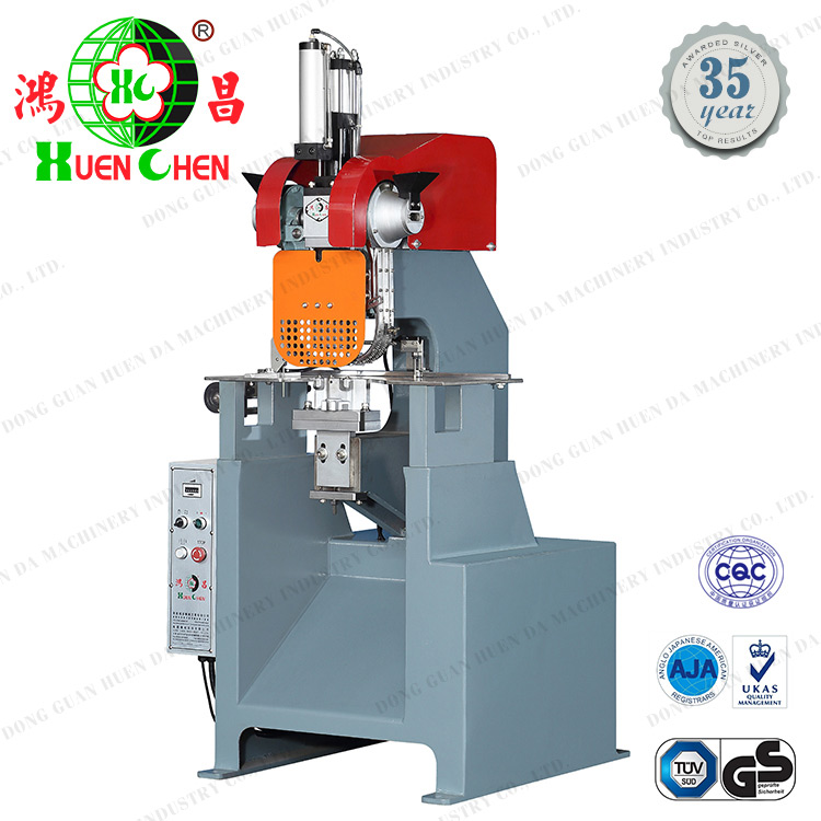 Power press automatic file folder ring four eyelet punching machine