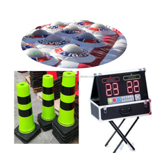 New Design Inflatable EPIC GIANT BASKETBALL 4-IN-A-ROW GAME