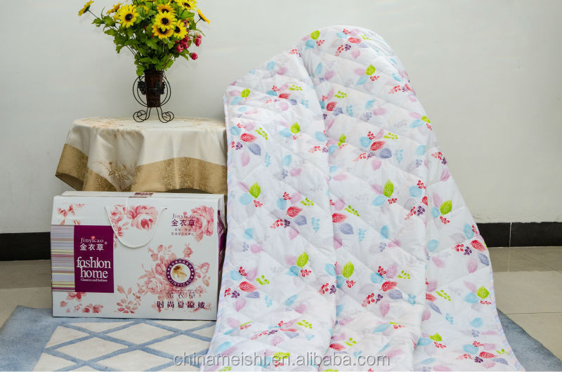 Bright color hot sale summer air conditioner summer cool blankets/summer quilt