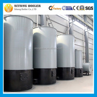 heat efficiency 75% capacity 120/700kw coal fired thermal oil heater