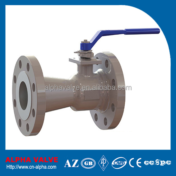 Lever One Piece Body Floating Ball Valve