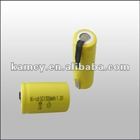 nicd sc 1300mah rechargeable battery 1.2v battery cell