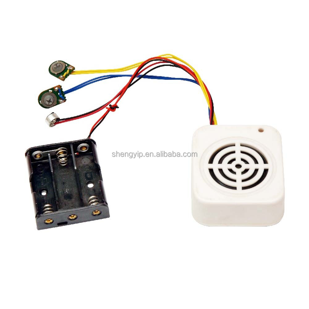 recordable teddy bear sound chip module for plush toys with push button