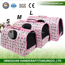 Pet Porducts Factory Wholesale Air Conditioned Dog Pet Travel Carrier