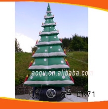 inflatable christmas decorations/gaint inflatable christmas tree/wholesale artificial christmas tree