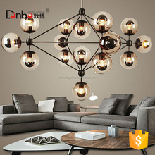 Sputnik Industrial Edison Bulbs Pendant Lamp lighting modern modo glass ball chandelier for high ceilings jason miller modo