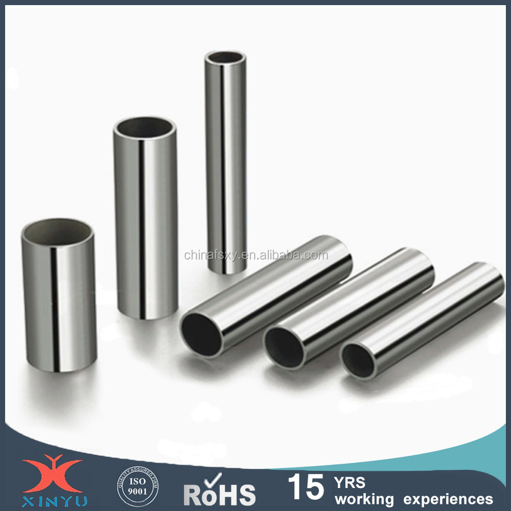 Cold rolled stainless steel pipe for building material
