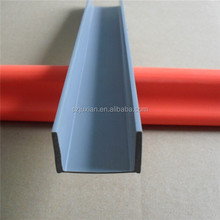 pvc plastic extrusion factory/manufacture pvc extruded lens profile
