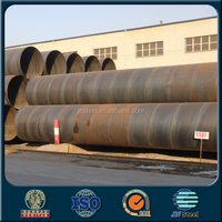 "china supplier epoxy coated 8"" Oil/gas Pipeline/spiral Welded Steel Pipe price list"