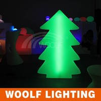 outdoor led solar powered christmas tree