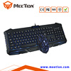 Hot Selling Rainbow Backlit Ultra Silent Gaming Keyboard Mouse Combos