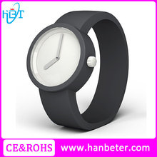 Vogue utra thin silicone watches for women slim rubber watch