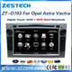 ZESTECH OEM factory direct sale car stereo for Opel astra h with double din auto spare parts, GPS, Radio, Audio, SWC, DTV, 3G
