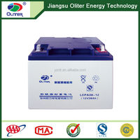 Wholesale price!Solar power storage panel 12V 38AH battery cell