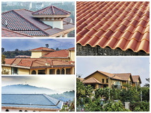 Shingle roof tile Spanish clay roof tile supplier chinese clay roof tile manufacture