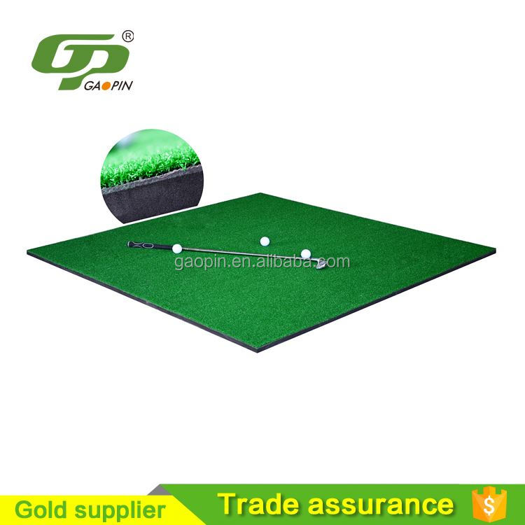 GP1515-1 2016 NEWEST PRODUCT artificial grass rubber golf mat