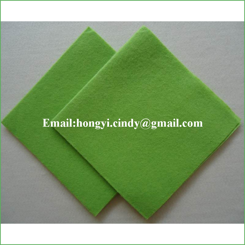 Household cleaning use super absorbent needle punch nonwoven all purpose cloth, all purpose cleaning cloth