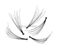 Synthetic fiber nature eyelash stock 1/3/5 pairs of a box,ib eyelash,false eyelash
