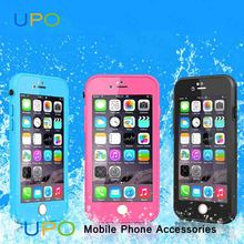 [UPO] Hot Selling Water Proof Bling Diamond PC Silicone Phone Cases for iPhone 6s