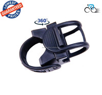AloneFire LC-8 360 Degree Rotation Universal Bicycle Flashlight Mounting Bracket Bike Mount Holder Clip