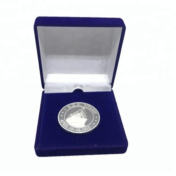 Factory Price 999 Silver Commemorative coin with Gift Box