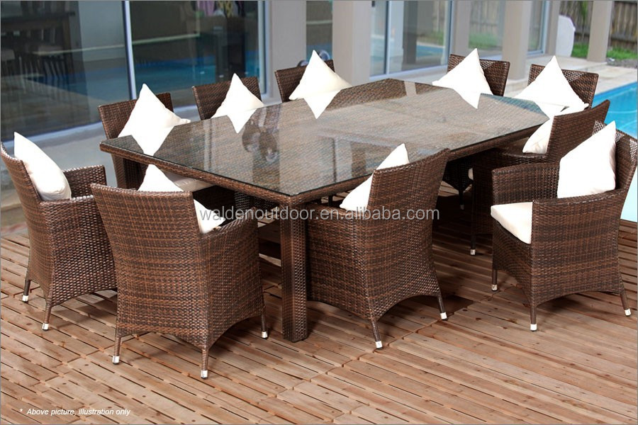 home dining set rattan dining table and chair design