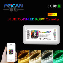 Programmable RGBW Bluetooth led dimmer remote Smart music play controller Adjust BrightnessTimer function