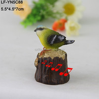 Resin decoration figure bird/Resin decoration bird figurine