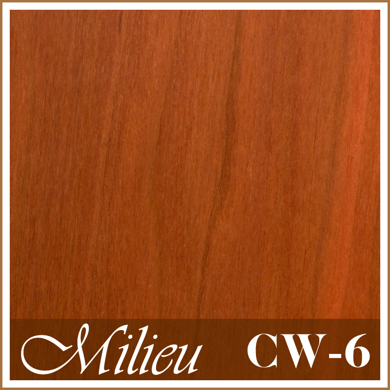 Cherry Wood (CW-6) - Plank engineered flooring 3.5mm top layer UV Laquer coat wood timber