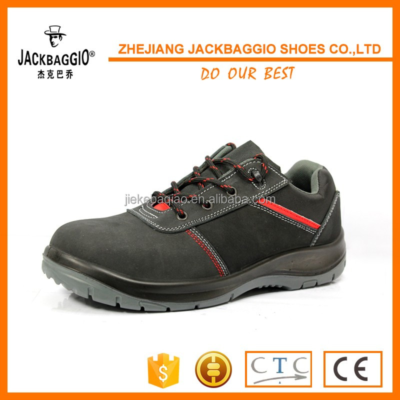 man safety outdoor leather shoes for working and climbing