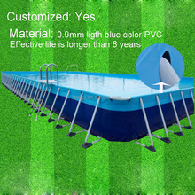Portable metal frame swimming pool used swimming pool for sale