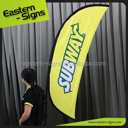 Promotion Mobile Backpack Flag