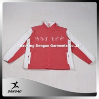 Custom standard collar women lady fleece custom women bomber jacket wholesale