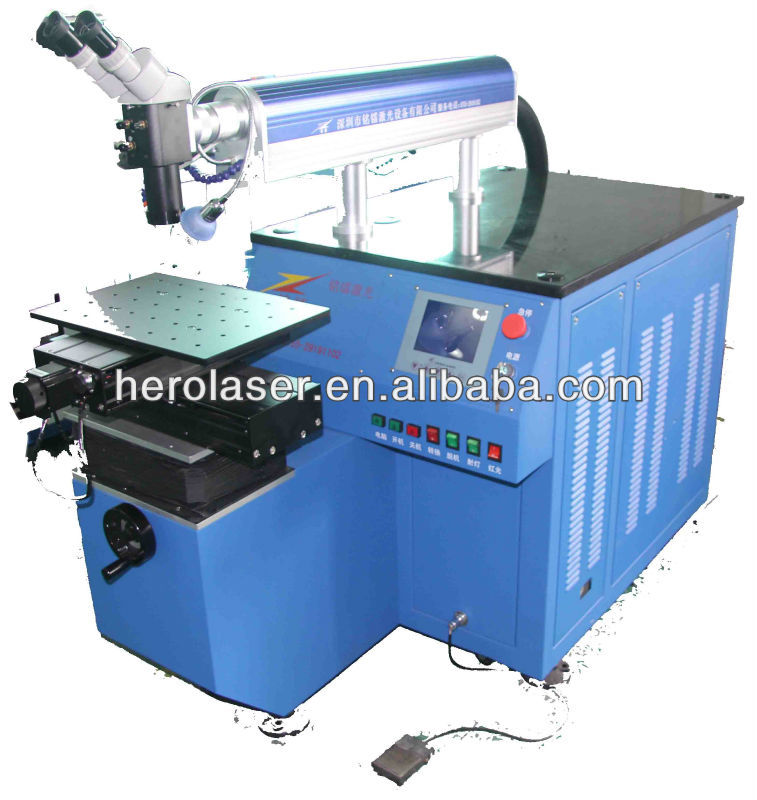 Stainless steel laser soldering system
