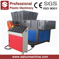 Paper plastic wood chipper pipe single shaft Shredder machine
