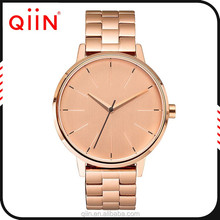 QE0059 Brand new Stainless steel qiin quartz watch water resist 10 bar from japan movement