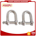 304 Stainless steel European Type D Shackle