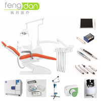 Guangzhou FENGDAN new design popular unique luxury multifunctioinal dental chair price dental products china