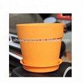 custom Small Plastic Parts injection moulding colorful bulk flower pots