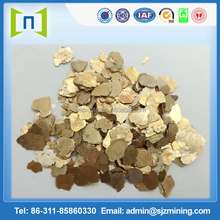 natural raw mica prices for industry use/ gold mcia