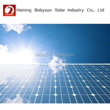 professionable transparent solar panel, solar pv module from China