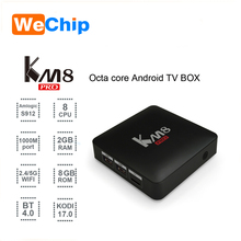 Excellent performance Install google play store android tv box KM8 PRO android 6.0 marshmallow tv box Smart Media Player km8 pro