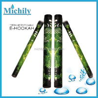 500~600 puffs e hookah shisha pen with different flavors