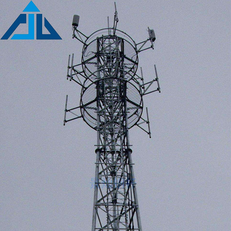 Electric transmission line pull up power cable steel tower