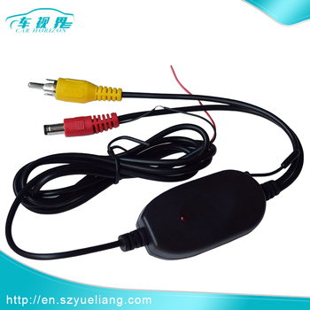 2.4G Car wireless receiver transmitter for Car Monitor back up Rear View Camera